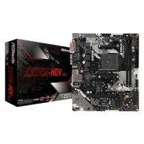 ASRock X370M-HDV R4.0 - AMD - Socket AM4 - AMD A - DDR4-SDRAM - DIMM - 2133, 2400, 2667, 2933, 3200 MHz (90-MXB9P0-A0UAYZ)