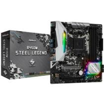 ASROCK B450M STEEL LEGEND (AM4) (D) (90-MXB9Y0-A0UAYZ)