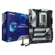 ASRock TRX40 Creator - AMD - sTRX4 - AMD Ryzen - DDR4-SDRAM - DIMM - 4466, 2133, 2400, 2667, 2933, 3200, 3466, 3600, 3733, 3800, 3866, 4000, 4133, 4200, 4266, 4333, 4400, 4533, 4600, 4666 (90-MXBB70-A0UAYZ)