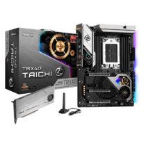 ASRock TRX40 Taichi - AMD - sTRX4 - AMD Ryzen - DDR4-SDRAM - DIMM - 2133, 2400, 2667, 2933, 3200, 3466, 3600, 3733, 3800, 3866, 4000, 4133, 4200, 4266, 4333, 4400, 4533, 4600, 4666 MHz (90-MXBBK0-A0UAYZ)