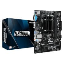 ASRock QC6000M - AMD - Socket FT3 - AMD E2 - DDR3-SDRAM - DIMM - 1333, 1600 MHz (90-MXBBU0-A0UAYZ)