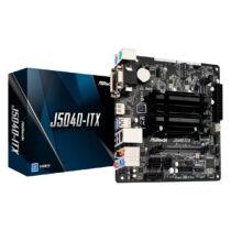 ASRock J5040-ITX - Intel - Intel® Pentium® - J5040 - DDR4-SDRAM - DIMM - 2133, 2400 MHz (90-MXBCD0-A0UAYZ)