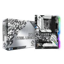 ASRock H470 Steel Legend - Intel - LGA 1200 - Intel® Celeron® - Intel® Core™ i3 - Intel Core i5 - Intel Core i7 - Intel Core i9 - Intel® Pentium® - DDR4-SDRAM - DIMM - 2133, 2400, 2666, 2800, 2933 MHz (90-MXBCK0-A0UAYZ)