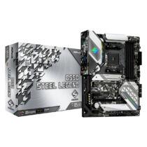 ASRock B550 Steel Legend - AMD - Socket AM4 - AMD Ryzen - DDR4-SDRAM - DIMM - 128 GB (90-MXBDF0-A0UAYZ)