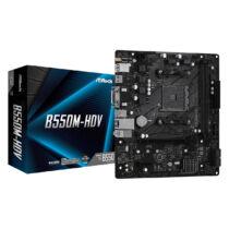 ASRock B550M-HDV - AMD - Socket AM4 - AMD Ryzen - DDR4-SDRAM - DIMM - 2133, 2400, 2667, 2933, 3200, 3466, 3600, 3733, 3800, 3866, 4000, 4133, 4200, 4266, 4333, 4400, 4466, 4533, 4600, 4666 (90-MXBDJ0-A0UAYZ)