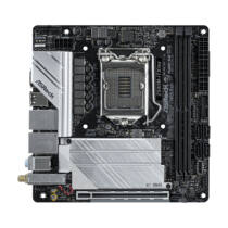 ASRock Z590M-ITX/ax - Intel - LGA 1200 - Intel® Core™ i3 - Intel Core i5 - Intel Core i7 - Intel Core i9 - LGA 1200 (Socket H5) - DDR4-SDRAM - DIMM (90-MXBET0-A0UAYZ)