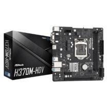 ASRock H370M-HDV - Intel - LGA 1151 (Socket H4) - Intel® Core™ i3 - Intel Core i5 - Intel Core i7 - Intel Core i9 - DDR4-SDRAM - DIMM - 2133, 2400, 2666 MHz (90-MXBF40-A0UAYZ)