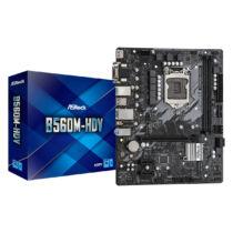 Asrock B560M-HDV Intel B560 LGA 1200 Micro ATX (90-MXBF50-A0UAYZ)