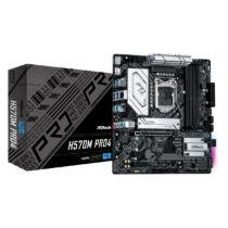 ASRock H570M Pro4 - Intel - LGA 1200 - Intel® Celeron® - Intel® Core™ i3 - Intel Core i5 - Intel Core i7 - Intel Core i9 - Intel® Pentium® - DDR4-SDRAM - DIMM - 4600, 4800 MHz (90-MXBFR0-A0UAYZ)