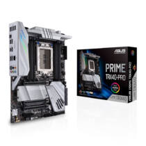 ASUS Prime TRX40-Pro - AMD - sTRX4 - AMD Ryzen - DDR4-SDRAM - DIMM - 2133, 2400, 2666, 2800, 2933, 3200, 3400, 3733, 3800, 4133, 4266, 4333, 4400, 4600, 4666 MHz (90MB12F0-M0EAY0)