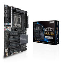 ASUS WS C422 SAGE/10G Intel® C422 LGA 2066 (Socket R4) CEB (90SW00J0-M0EAY0)