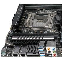 ASUS X99-E-10G WS - Intel - LGA 2011-v3 - Intel Core i7 - DDR4-SDRAM - 2133, 2400, 2666, 2800, 3000, 3200, 3333 MHz - 128 GB (90SW05Z0-M0EAY0)
