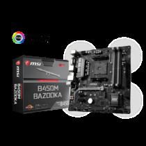 MSI Alaplap AM4 B450M BAZOOKA AMD B450, mATX (B450M BAZOOKA)