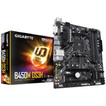 Gigabyte B450M DS3H alaplap AMD B450 AM4 foglalat Micro ATX (B450M DS3H)