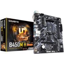 Gigabyte B450M H - AMD - Socket AM4 - AMD Ryzen - DDR4-SDRAM - DIMM - 2133, 2400, 2667, 2933, 3466, 3600 MHz (B450M H)