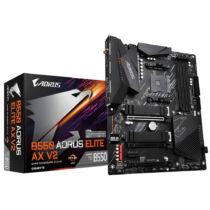 Gigabyte B550 AORUS ELITE AX V2 alaplap AMD B550 AM4 foglalat ATX (B550 AORUS ELITE AX V2)