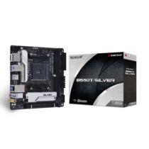 Biostar B550T-SILVER alaplap AMD B550 AM4 foglalat mini ITX (B550T-SILVER)