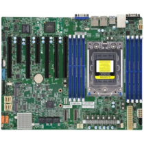 Supermicro Server MB 1xSP3/ATX/2x1Gb LAN H12SSL-i retail - Motherboard - ATX (MBD-H12SSL-I-O)