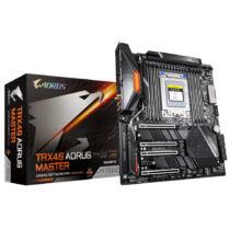 Gigabyte TRX40 AORUS MASTER alaplap AMD TRX40 Socket sTRX4 Extended ATX (TRX40 AORUS MASTER)