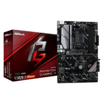 ASRock X570 Phantom Gaming 4 - AMD - Socket AM4 - AMD Ryzen - DDR4-SDRAM - DIMM - 2133, 2400, 2667, 2933, 3200, 3466 MHz (90-MXBAU0-A0UAYZ)