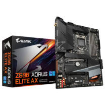 Gigabyte Z590 AORUS ELITE AX alaplap Intel Z590 Express LGA 1200 ATX (Z590 AORUS ELITE AX)