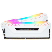 Corsair Vengeance CMW16GX4M2C3200C16W - 16 GB - 2 x 8 GB - DDR4 - 3200 MHz - 288-pin DIMM - White (CMW16GX4M2C3200C16W)