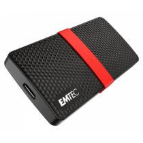 EMTEC X200 - 1000 GB - USB Type-C - 3.2 Gen 1 (3.1 Gen 1) - 450 MB/s - Black, Red (ECSSD1TX200)