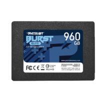"PATRIOT SSD Burst Elite - 960 GB - 2.5"" - SATA 6 GB/s - Solid State Disk - Serial ATA (PBE960GS25SSDR)"