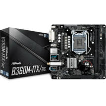 ASROCK B360M-ITX/ac (1151-v2) (D) (90-MXB790-A0UAYZ)