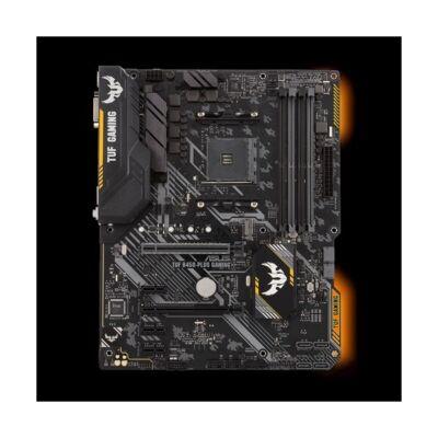 ASUS Alaplap AM4 TUF B450-PLUS GAMING AMD B450, ATX (TUF B450-PLUS GAMING)