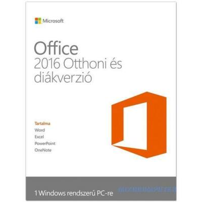 Microsoft Office 2016 Home & Student ÚJ LICENSZ (79G-04634)