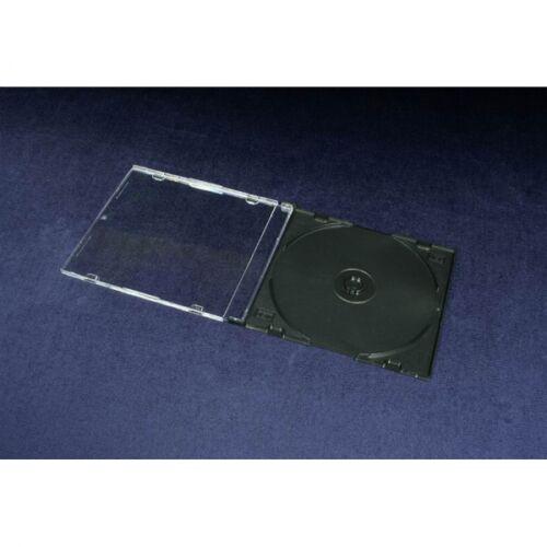 BOX FOR 1 CD - SLIM - BLACK (3101)