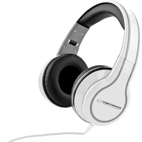 ESPERANZA STEREO AUDIO HEADPHONES BLUES WHITE (EH136W)