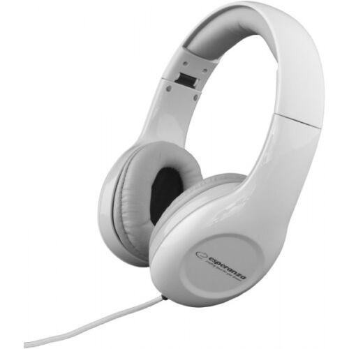 ESPERANZA STEREO AUDIO HEADPHONES SOUL WHITE (EH138W)