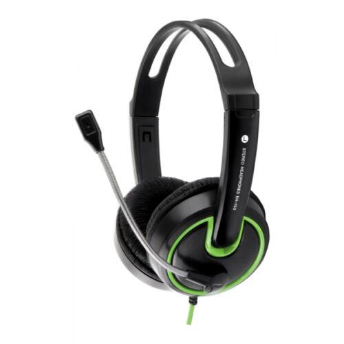 ESPERANZA HORNET headset zöld (EH153G)