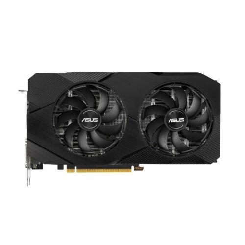 ASUS Dual DUAL-GTX1660S-6G-EVO - GeForce GTX 1660 SUPER - 6 GB - GDDR6 - 192 bit - 7680 x 4320 pixels - PCI Express 3.0 (90YV0DS5-M0NA00)
