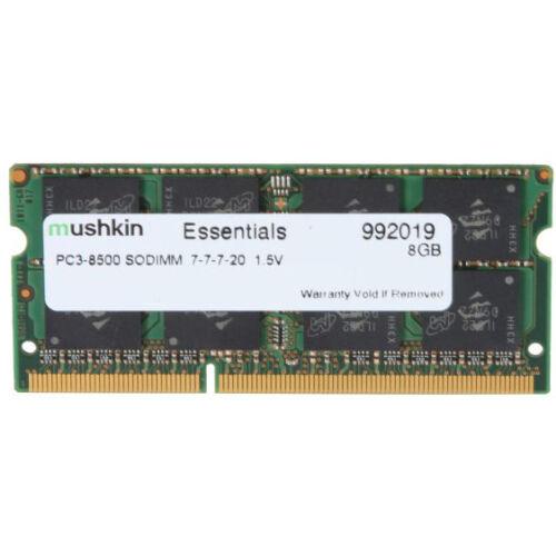 Mushkin SO-DIMM 8GB DDR3 Essentials - 8 GB - 1 x 8 GB - DDR3 - 1066 MHz - 204-pin SO-DIMM (992019)