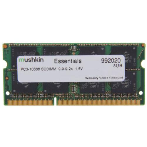 Mushkin SO-DIMM 8GB DDR3 Essentials memóriamodul 1 x 8 GB 1333 Mhz (992020)
