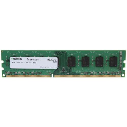 Mushkin DIMM 4GB DDR3 Essentials - 4 GB - 1 x 4 GB - DDR3 - 1600 MHz - 240-pin DIMM (992030)