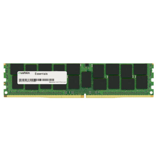 Mushkin Essentials 4GB DDR4 - 4 GB - 1 x 4 GB - DDR4 - 2133 MHz - 288-pin DIMM - Black, Green (992182)