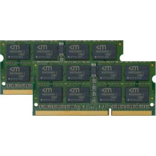 Mushkin 4GB PC3-8500 memóriamodul 2 x 2 GB DDR3 1066 Mhz (996643)