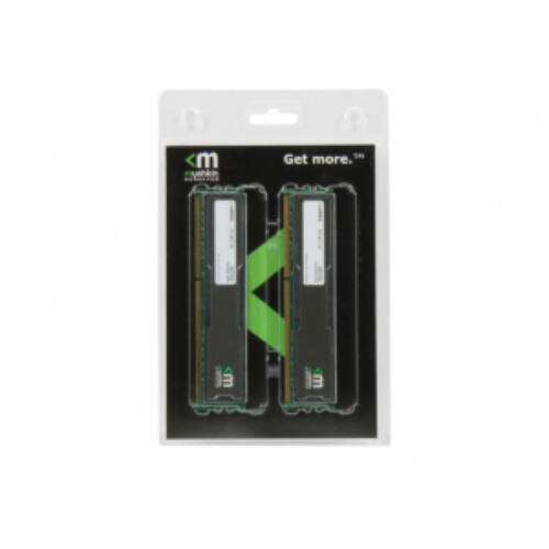Mushkin Silverline - 2 GB - 2 x 1 GB - DDR2 - 800 MHz (996758)
