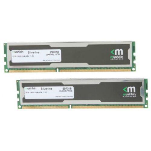 Mushkin Silverline-Serie - 16 GB - 2 x 8 GB - DDR3 - 1333 MHz - 240-pin DIMM (997018)