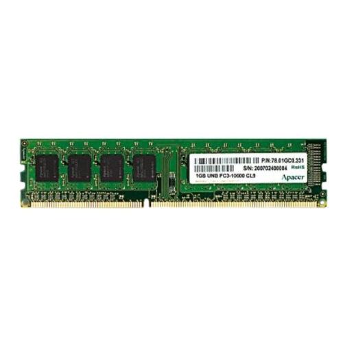 Apacer DL.08G2K.KAM - 8 GB - 1 x 8 GB - DDR3 - 1600 MHz - 240-pin DIMM (DL.08G2K.KAM)