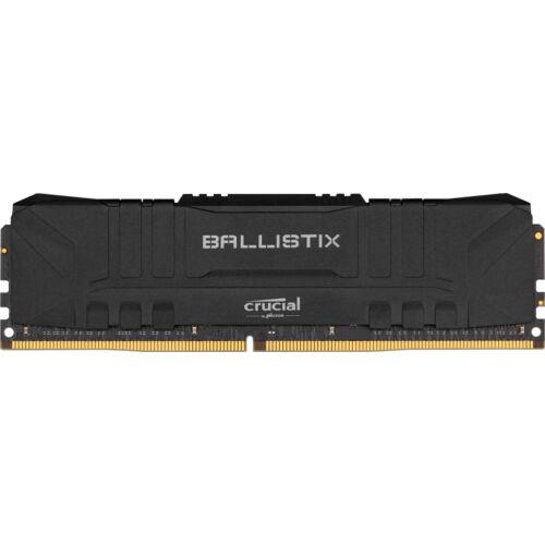 Crucial Ballistix - DDR4 - 16 GB 2 x 8 GB - DIMM 288-PIN - 3200 MHz PC4-25600 - CL16 - 1 - 16 GB - DDR4 (BL2K8G32C16U4B)