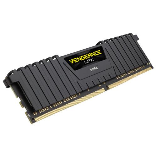 Corsair Vengeance LPX 16 GB - 16 GB - 1 x 16 GB - DDR4 - 2400 MHz - 288-pin DIMM - Black (CMK16GX4M1A2400C16)