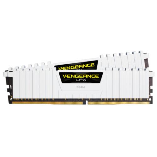Corsair Vengeance LPX CMK16GX4M2B3200C16W - 16 GB - 2 x 8 GB - DDR4 - 3200 MHz - 288-pin DIMM (CMK16GX4M2B3200C16W)