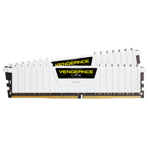 Corsair Vengeance LPX CMK32GX4M2A2666C16W - 32 GB - 2 x 16 GB - DDR4 - 2666 MHz - 288-pin DIMM (CMK32GX4M2A2666C16W)
