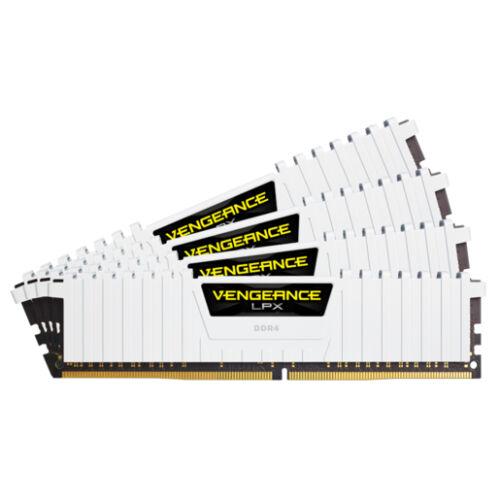 Corsair Vengeance LPX CMK32GX4M4B3200C16W - 32 GB - 4 x 8 GB - DDR4 - 3200 MHz - 288-pin DIMM (CMK32GX4M4B3200C16W)