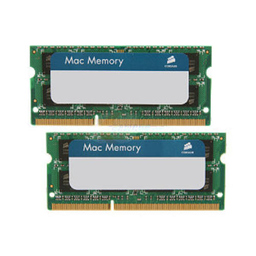 Corsair CMSA8GX3M2A1333C9 - 8 GB - 2 x 4 GB - DDR3 - 1333 MHz - 204-pin SO-DIMM - Green (CMSA8GX3M2A1333C9)